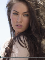 Megan Fox beach photoshoot