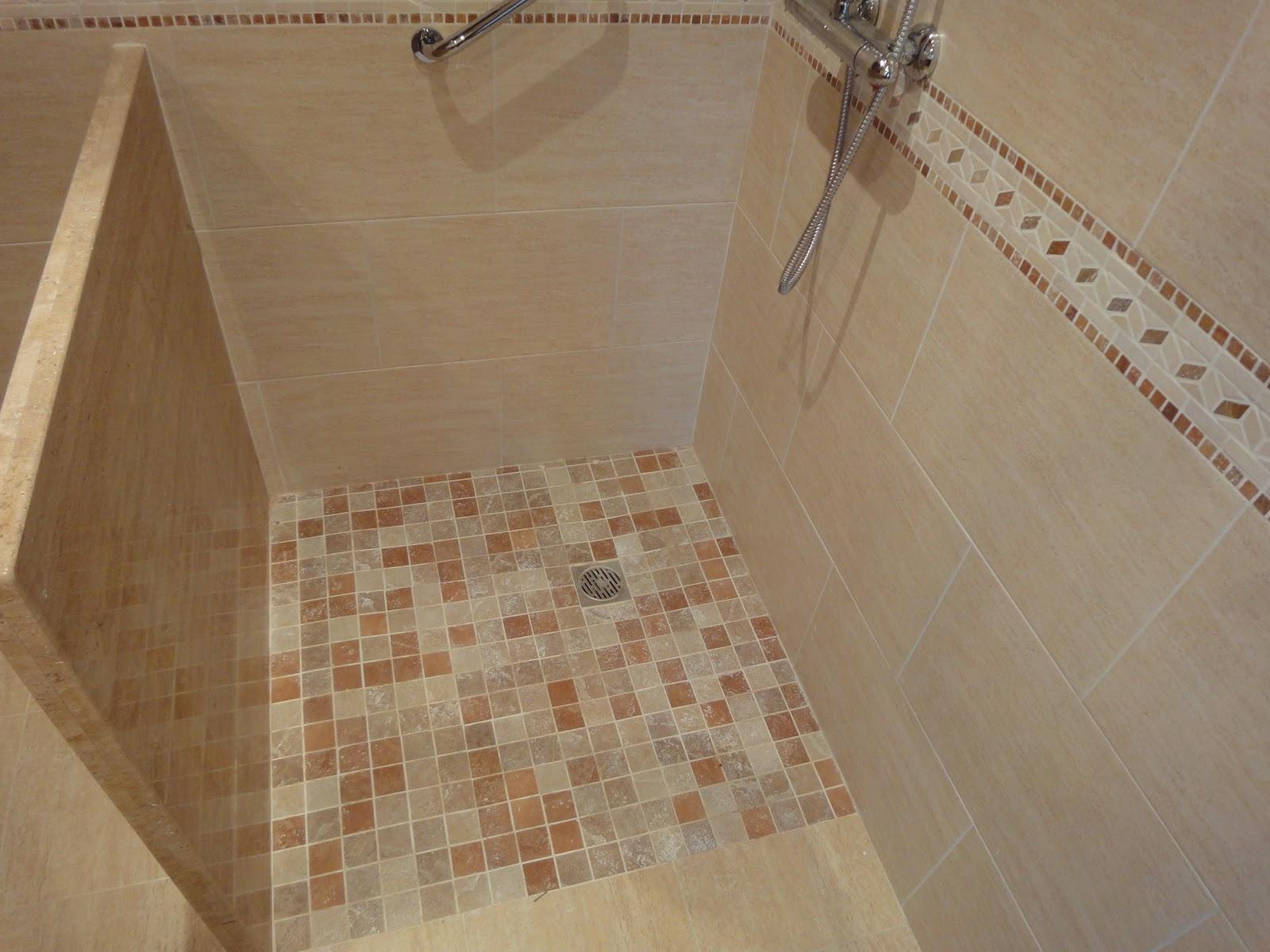 Asturiana de azulejos platos de ducha de obra - Azulejos ducha ...