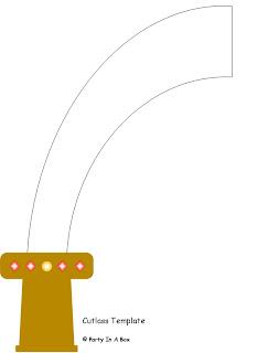 Fun Parties: Fun Pirate Project 4: Shiny Cutlass & Hook