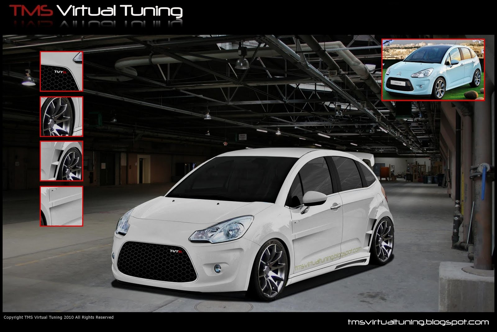 10th virtual car tuning battle citroen c3 we are. Black Bedroom Furniture Sets. Home Design Ideas