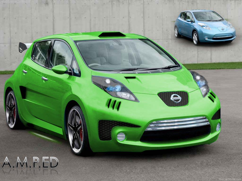 Nissan Leaf By A M P Ed We Are Petrolheads