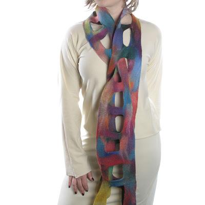 Moda extraña: bufandas originales