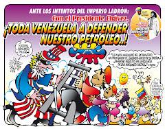 """""""SI ES CONTRA PDVSA ES CONTRA EL PUEBLO"""""""