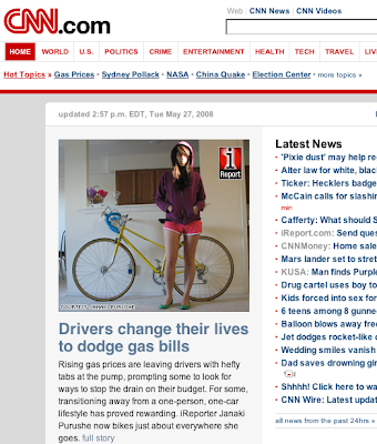CNN bike story