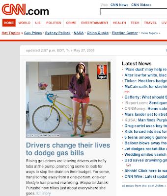 CNN bike story