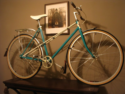 mixte bike makeover rebuild bicycle