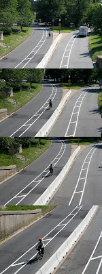 New bike lanes in Boston