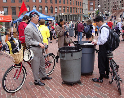 Boston bikes party
