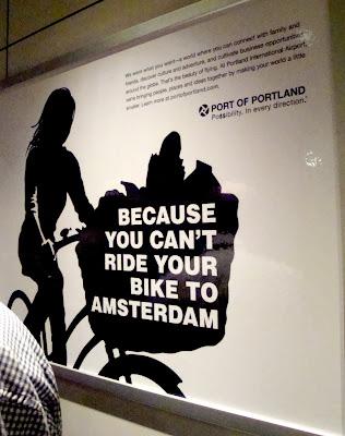 bicycles Portland Oregon Amsterdam