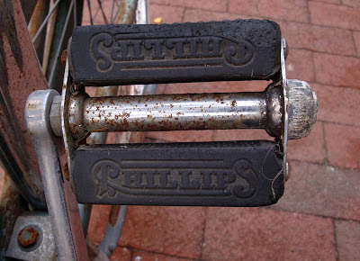 Phillips bike pedal block rubber