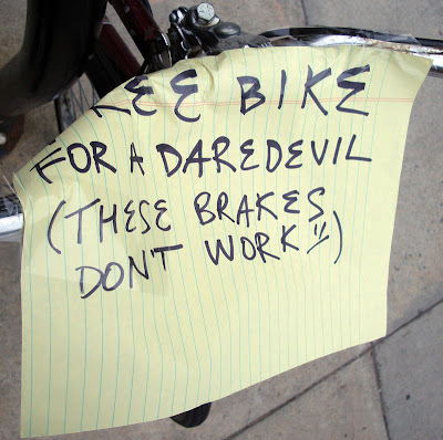 free bike for Daredevils