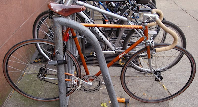 copper Raleigh International city bike