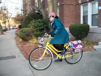 chic cyclist Boston