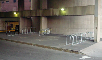Back Bay bike parking