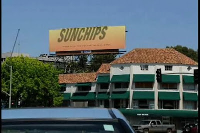 Sunchips Billboard that Changes With The Sun