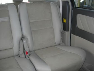 Toyota Alphard Rear Seats