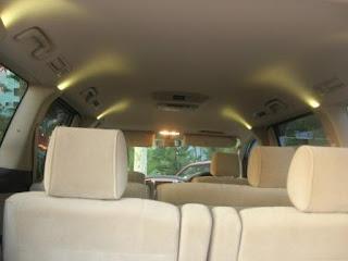Toyota Alphard Cabin Space