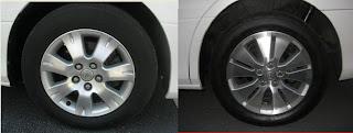 Toyota Alphard Rims