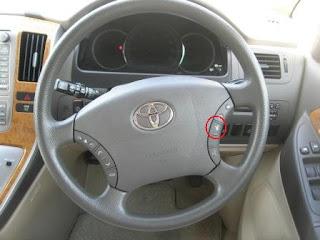 Toyota Alphard Front Camera Button