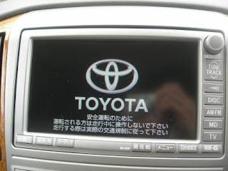 Toyota Alphard OEM HU