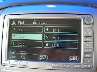 Toyota Alphard HU Radio Functions