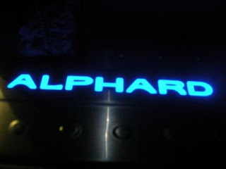 Toyota Alphard Side Step Lighted