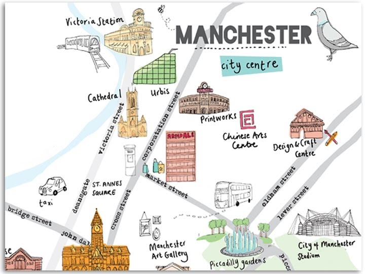 FIRECATCHER Manchester Map
