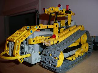 lego technic 14 tracteur agri chenilles chargeur t l scopique. Black Bedroom Furniture Sets. Home Design Ideas