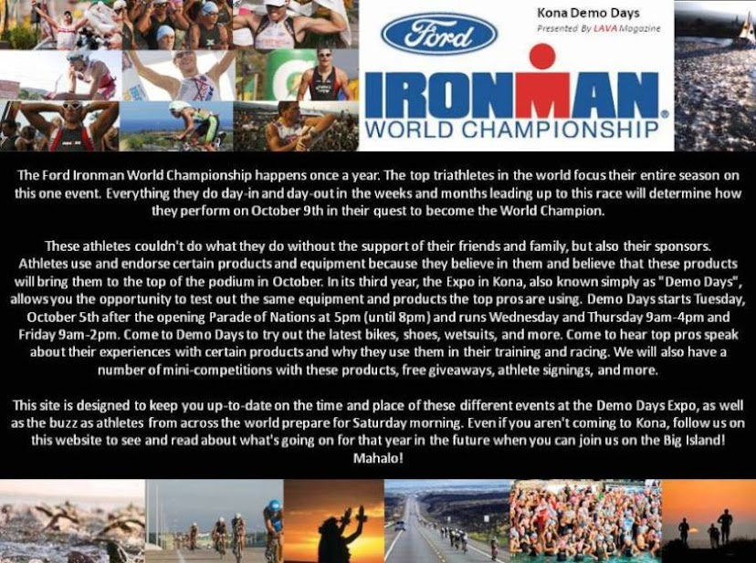 Ford Ironman Demo Days