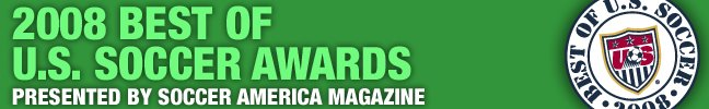 "ussoccer.com's 2008 ""Best of U.S. Soccer"""
