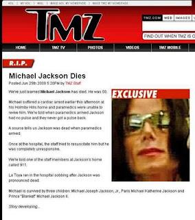 "6.12.  ""Última Hora Michael Jackson Muere"" Lecciones sobre la Ética  Periodística"