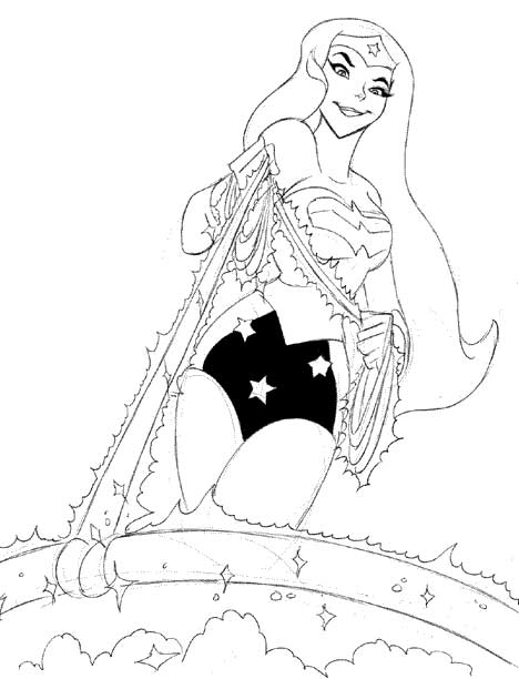 From The Trusty Escape Art Files: Wonder Woman A Go-Go