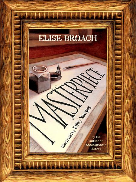 book review  masterpiece  elise broach  reading
