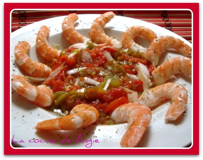 La cocina de angie ensalada de langostinos - Ensalada de langostinos ...