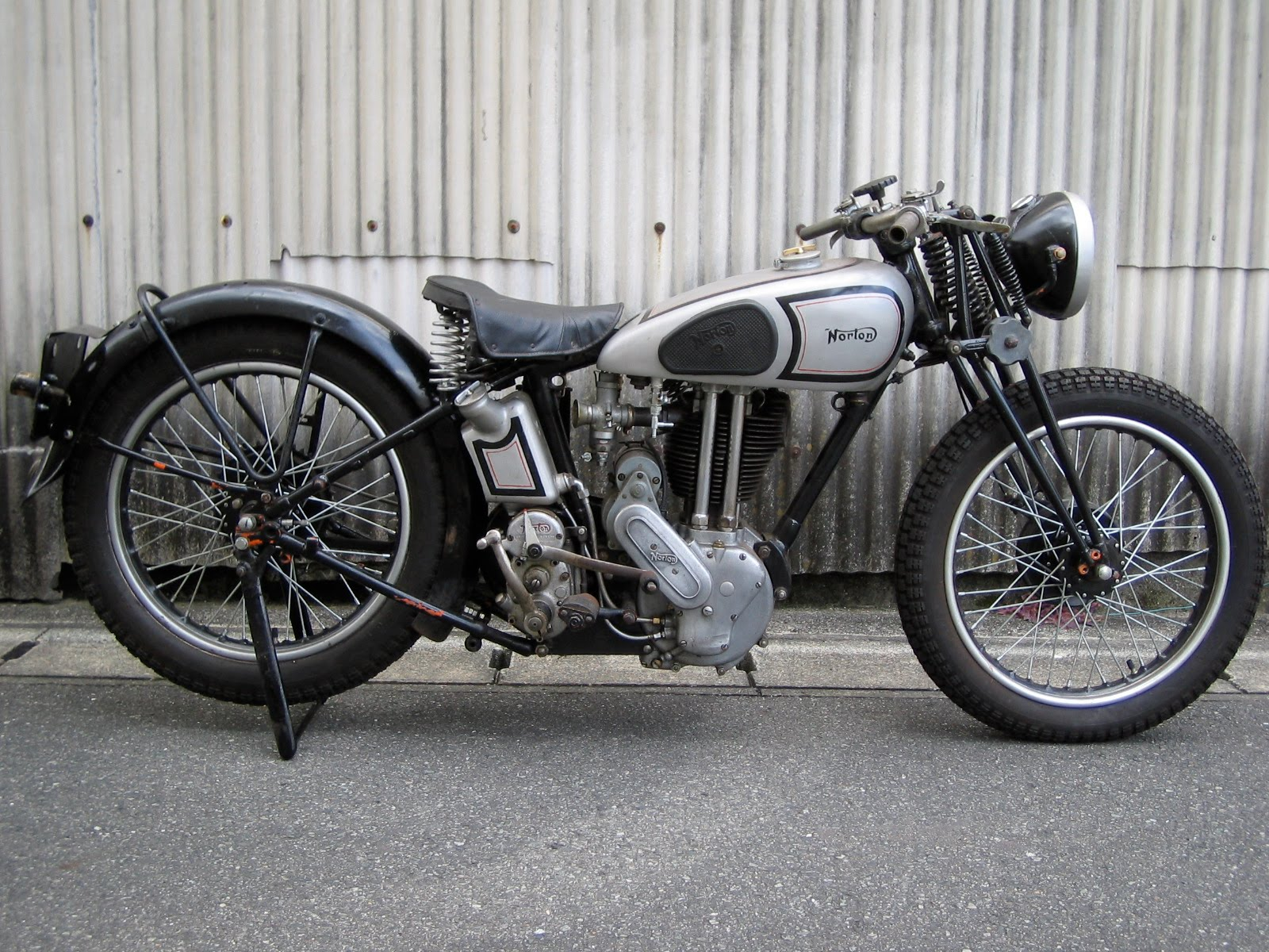 Vintage Norton Motorcycles Shunsuke 39 S 1936 Model 18 Norton