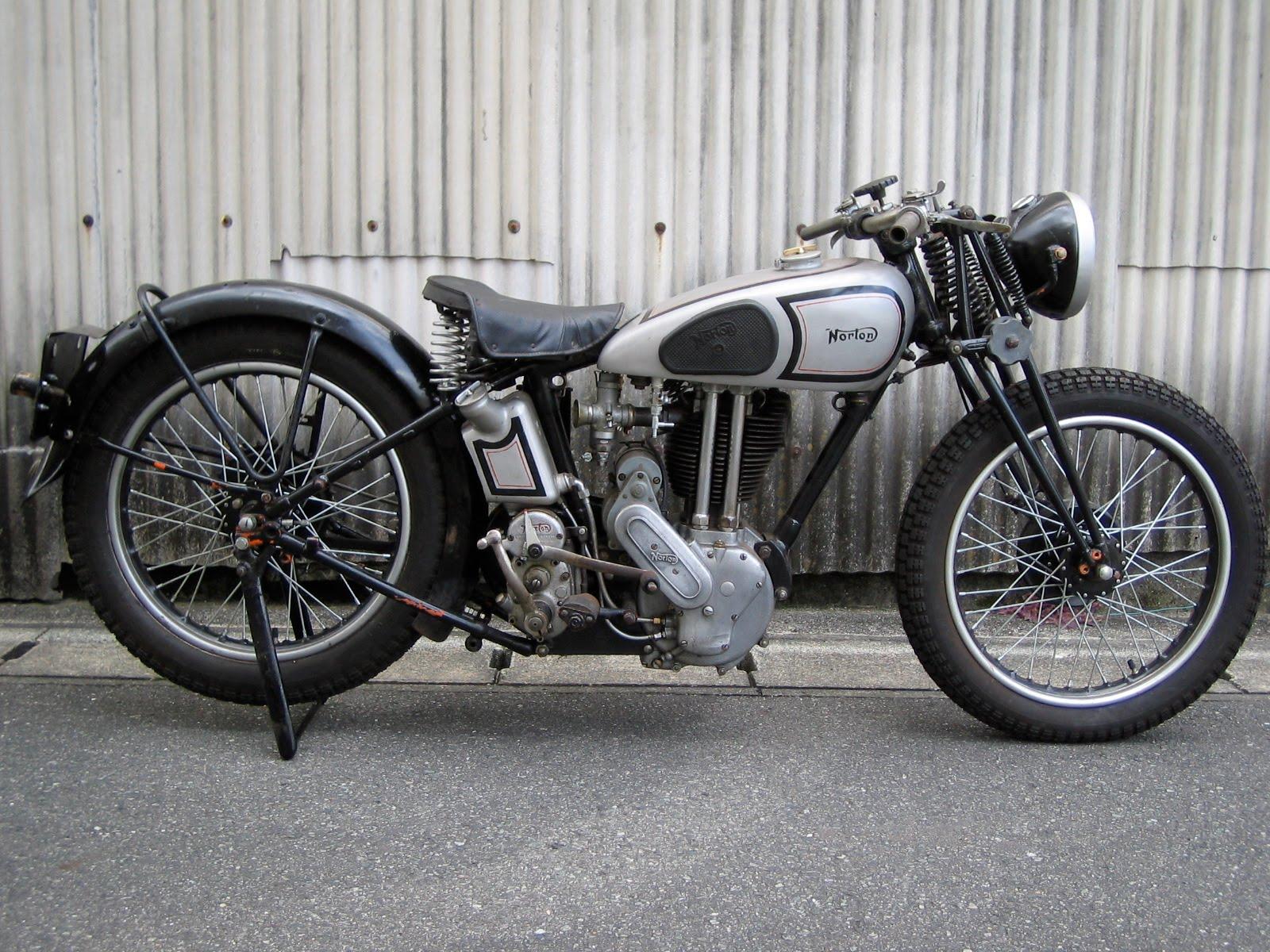 Vintage norton motorcycles shunsuke 39 s 1936 model 18 norton for The norton