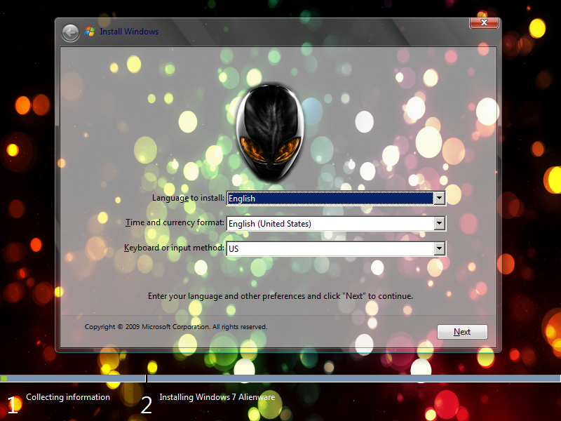 windows 7 alienware download full version