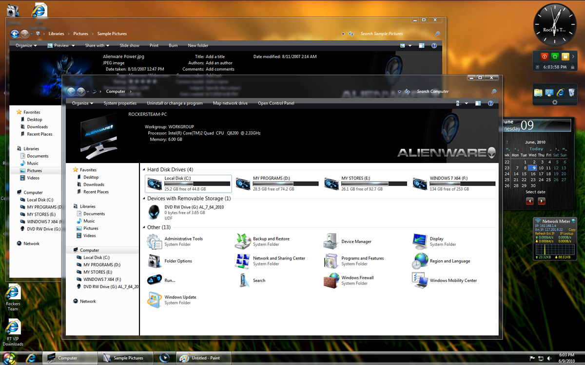 Free download activex windows 7 32 bit - Windows 7 Alienware Is Mainly Designed For Alienware Machines With Many New Tweaks