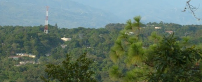 Vista a la aldea Suacité