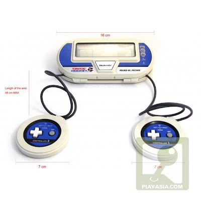 Retro consoles: nintendo micro vs system