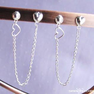 Simplyy J: Cartilage/Double Piercing Earrings