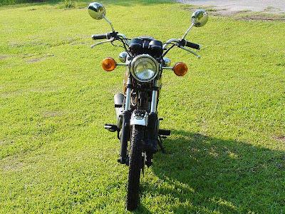Kawasaki+KZ200+A1+4 Kawasaki KZ200 A1 1977 1978
