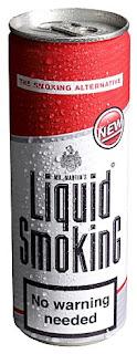 Liquid Smoking, boisson à base de Nicotine