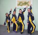 meninas da ginastica
