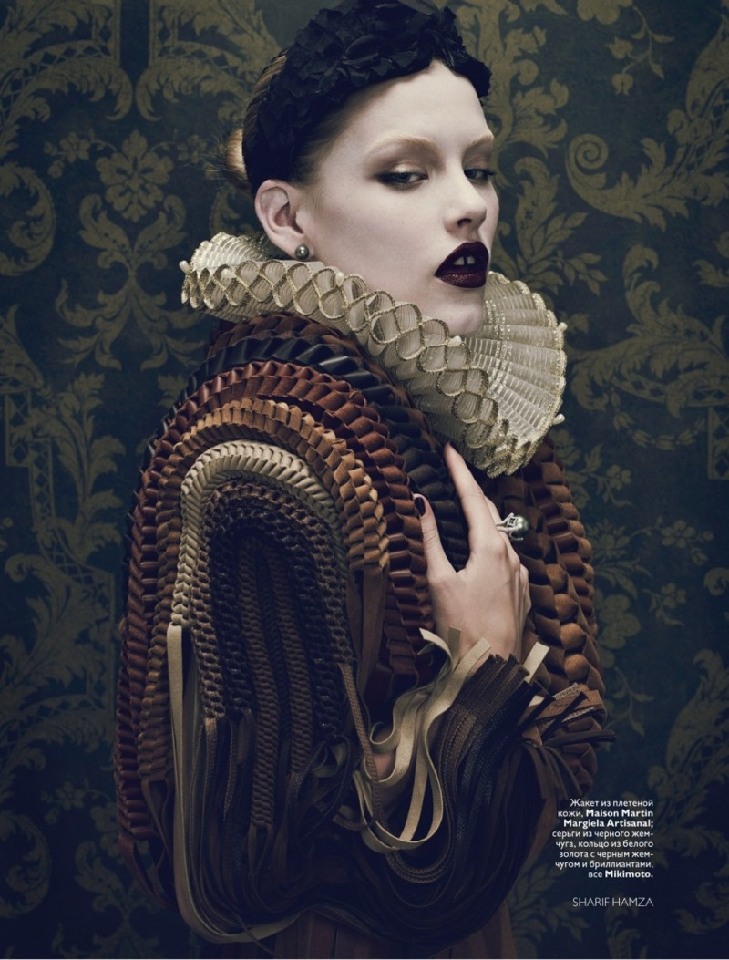 The times of the tudors russian vogue take on the tudors for Baroque fashion design