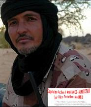 Capitaine Asharif MOHAMED-ALMOCTAR, 1er  Vice-Président du MNJ