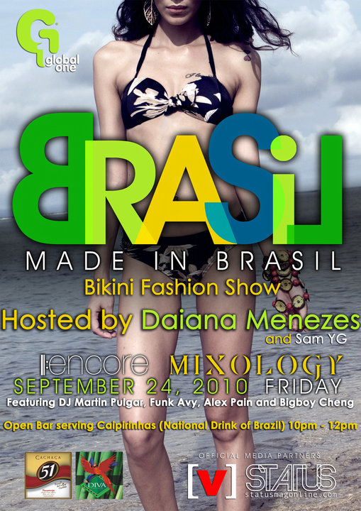See the latest swimwear line from Made In Brasil! Watch its Bikini Fashion ...