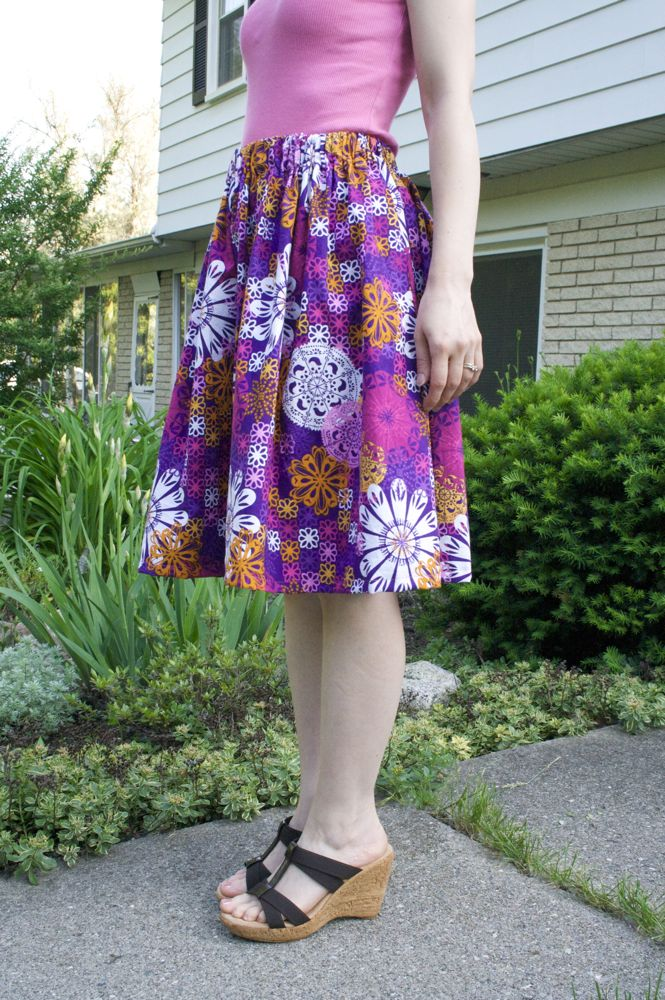 Sew Can Do: Flirty Skirty Ends the Mommy Clothes Rut