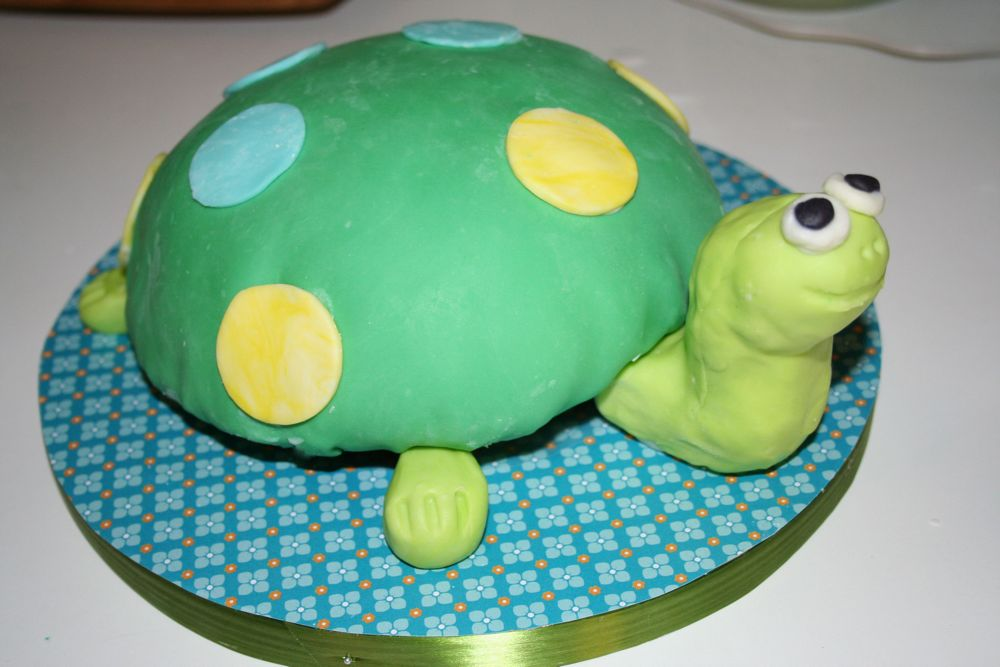 Sew Can Do CraftShare Week 4 Turtle Cake Modeling Chocolate