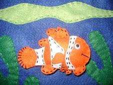 Dedoche Peixinho Nemo